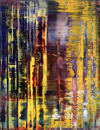 Abstraktes Bild 780-1 (Abstract Painting) 1992 260cm x 200cm