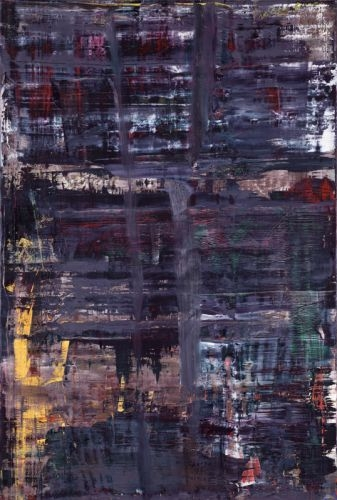 an analysis of gerhard richters painting woman descending the stair case Materials in art since the sixties through four case studies by analyzing the  gerhard richter's mirrors:  43 richter, woman descending the staircase,.