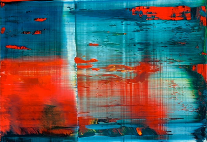 Abstract Painting [858-3] » Art » Gerhard Richter