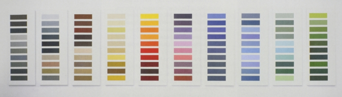 Richter Color Chart Paintings