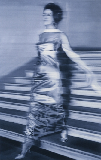 """Woman Descending the Staircase"" 1964 Gerhardt Richter"